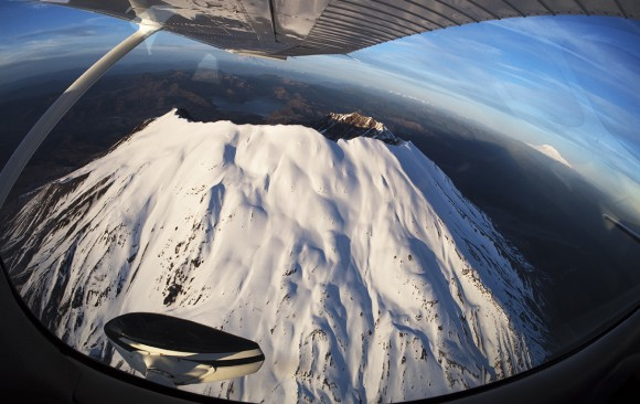 Narrative: Flying in the Cascades
